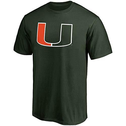 Profile Varsity University of Miami Herren Big & Tall Hurricanes Logo T-Shirt, Herren, grün, XLT University Of Texas-jersey