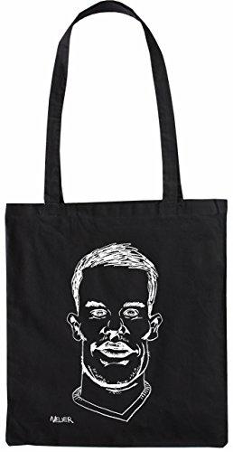 Mister Merchandise Tote Bag Manuel Neuer Borsa Bagaglio , Colore: Nero Nero