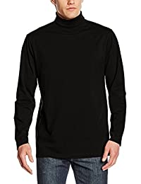Henbury Mens Roll Neck Long Sleeve Top