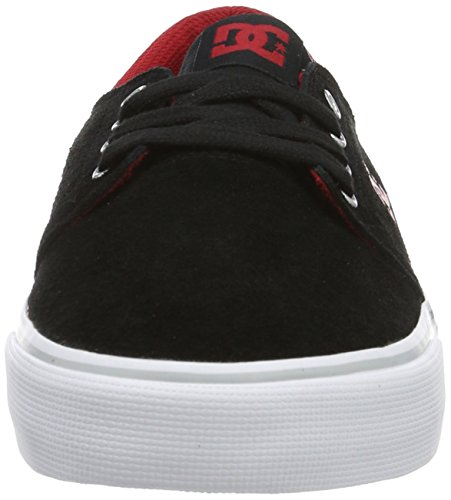 DC Shoes  Trase SD, Sneakers basses homme Noir - Schwarz (Black/Red - BLR)
