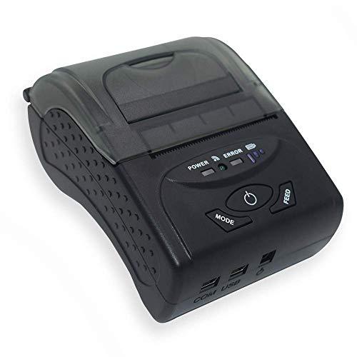 Tragbarer Thermodrucker, Mini-kabelloser Bluetooth-Hochgeschwindigkeits-Thermodrucker, kompatibel mit ESC/POS/Star-Druckbefehlen