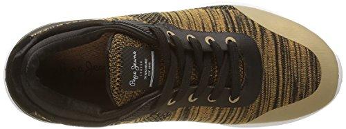 Pepe Jeans London Dakota, Sneaker Basse Donna Oro (o (099gold))
