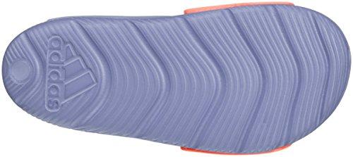 adidas Unisex-Kinder Altaswim Sandalen, Violett (Super Purple/Haze Coral/Easy Coral), 32 EU -