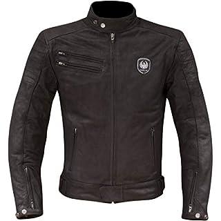 Merlin Alton Leather Motorcycle Jacket - Black UK 44