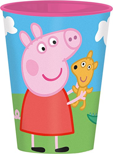 Peppa Pig Plastico value vaso (Stor 52807)