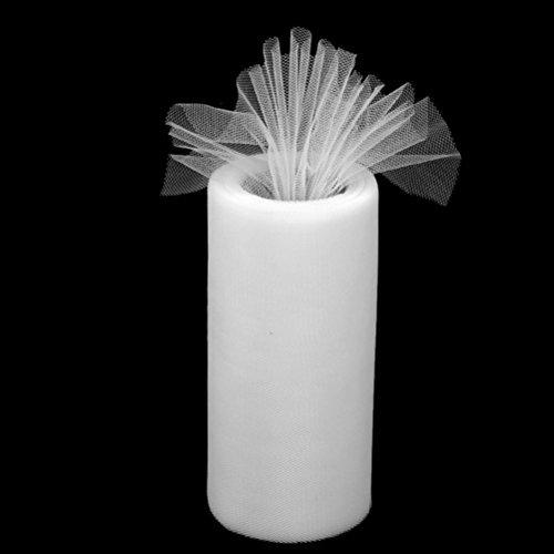 Tulle Rouleau de bobine Emballage cadeau Fête de mariage Bow Banquet Craft Décor Tutu