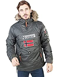 Geographical Norway Chaqueta Boomerang_Man Hombre Color: Gris Talla: XL