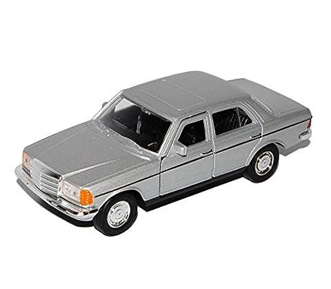 Mercedes-Benz W123 E-Klasse Limousine Silber 1975-1986 ca 1/43 1/36-1/46 Welly Modell Auto