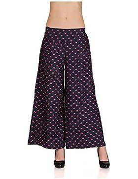 Indian Handicrfats Export Embok Regular Fit Women Blue Trousers