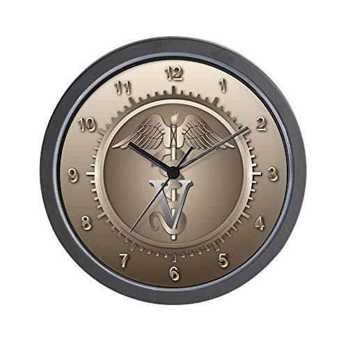 Veterinario CafePress–Reloj de...
