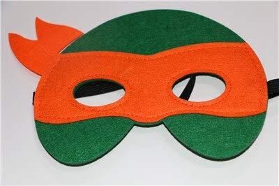 1 stücke Ninja Turtles Maske Captain America Teenage Mutant Ninja Turtles The Avengers Kind Geburtstagsgeschenk Cosplay Party TMNT Masken, mischen (Ninja Mädchen Turtle Kostüme Halloween)