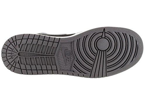 Nike Damen Air Jordan 1 Retro High Gg Laufschuhe Grau / Schwarz (Wlf Grau / Sprt FCHS-Blk-Drk Gry)