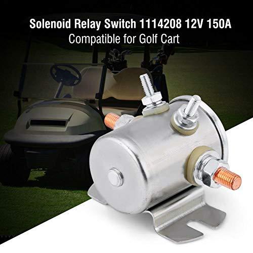 FidgetGear Solenoid Relay Schalter CONTINUUS Duty 12V Volt ISULATED Base FÜR Golf CART MF -