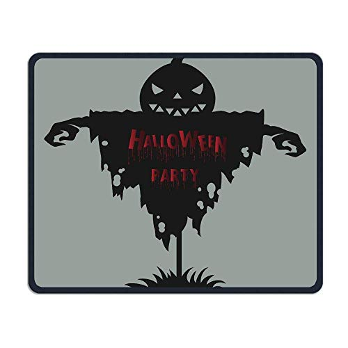 Deglogse Gaming-Mauspad-Matte, Smooth Mouse Pad Halloween Party Mobile Gaming Mousepad Work Mouse Pad Office Pad (Spiel Pics Halloween 100)