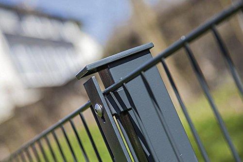 Preisvergleich Produktbild Doppelstabmatten 6/5/6, Höhe:83cm, Oberfläche:verzinkt - graue Beschichtung