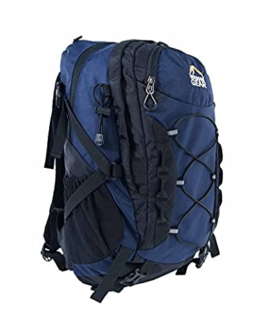 1124 Outdoor Gear Sac à dos Sac à dos Camping randonnée sport-Sac de voyage-Noir/Bleu Marine