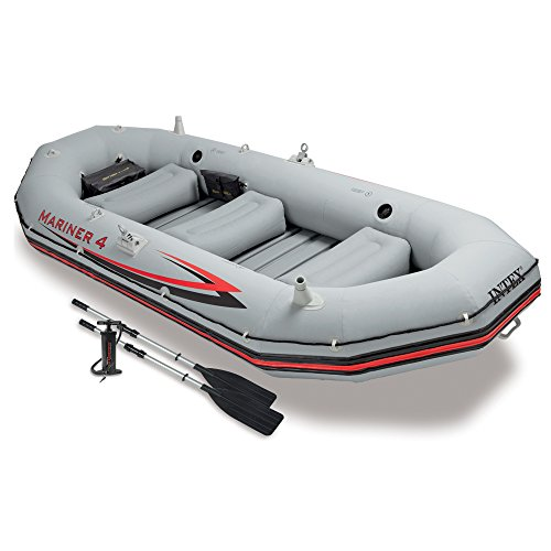 "Intex 68376 - Schlauchboot-Set ""Mariner 4\"" 328 x 145 x 48 cm"