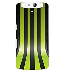 ColourCraft Pattern Design Back Case Cover for OPPO N1
