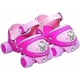 D'Arpèje Hello Kitty Adjustable Rollerskates 3-7 years Size 22-30