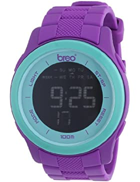 Breo Unisex-Armbanduhr Orb 10 Digital Plastik B-TI-ORX214