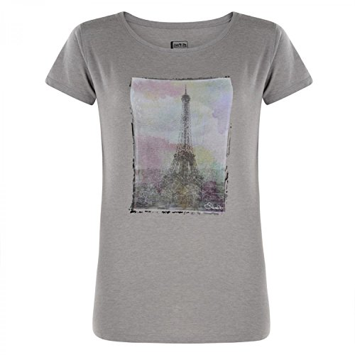 Dare 2b Damen Tower vor t-shirt-enamel blau, Größe 10 44 Ash Grey Marl