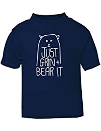 Flox Creative Baby T-Shirt Just Grin and Bear It
