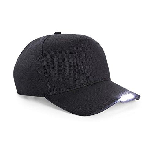 LED torch cap black (Teen Blinken Schwarze)