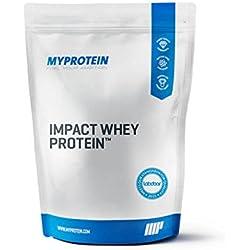 MyProtein Impact Whey Proteína de Suero, Sabor Chocolate Blanco - 1000 gr