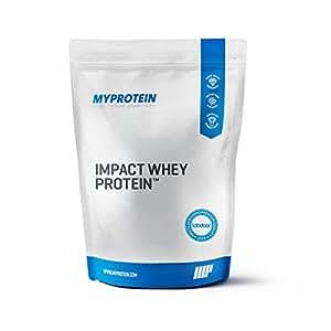 Myprotein Impact Whey Protein Unflavoured, 1er Pack (1 x 5 kg)