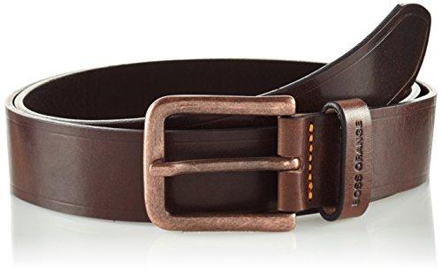 BOSS Orange Herren Gürtel 10197820 01 Braun (Dark Brown 202)