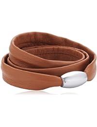Xen Damen Armband Edelstahl Leder 51607526G1