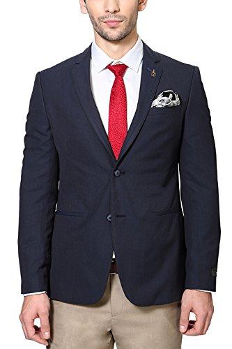 Van Heusen Men Ultra Slim Fit Blazer_vhbz315m04970_36_navy