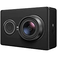 YI 16 MP Action Camera with High-Resolution WiFi and Bluetooth - Black