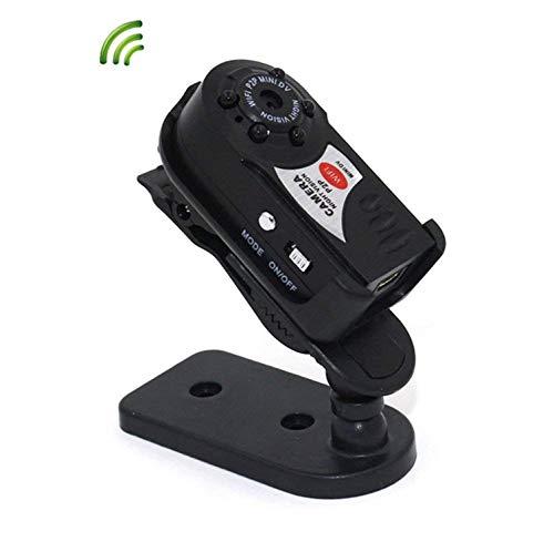 Kryily Mini Design Mini WiFi DVR Enregistreur Vidéo Caméra sans Fil Wi-FI Caméscope IP Caméra Vision Nocturne Détection de Mouvement Microphone Intégré Caméra