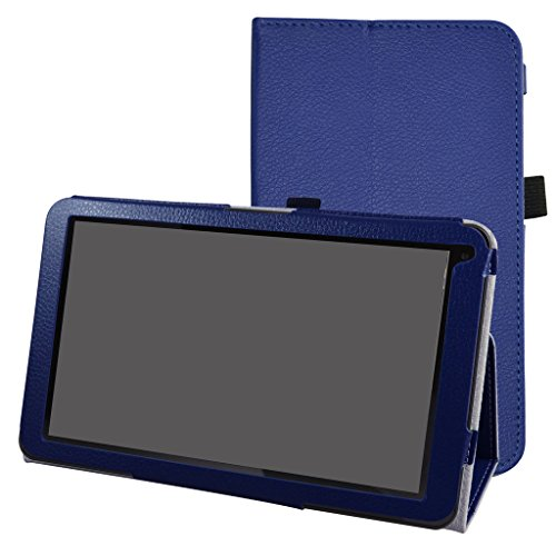 "10.1"" Fusion5 104A GPS Android Tablet hülle,Mama Mouth Folding Ständer Hülle Case mit Standfunktion für 10.1\"" Fusion5 104A GPS Android 5.1 Tablet,Hellblau"