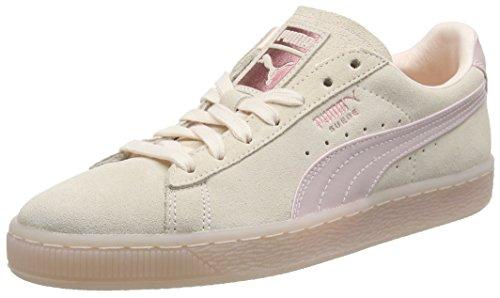 Puma Damen Suede Classic Satin WN's Sneaker, Pink (Pearl-Rose Gold), 37 EU -