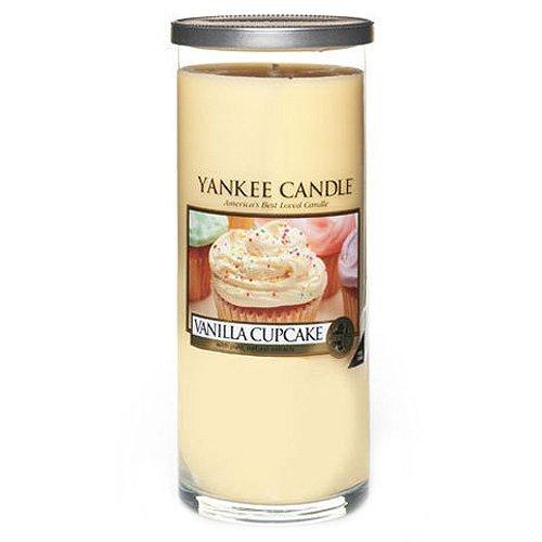 "Yankee Candle Yankee candle ""vanilla cupcake"" stumpenkerze gelb groß"