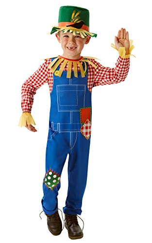 Rubies - Disfraz oficial de Mr Scaregrow para niño, talla M.