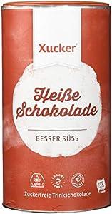 Xucker Heiße Schokolade - Hot Chocolate mit Xylit und UTZ-Kakao - Pulver in...