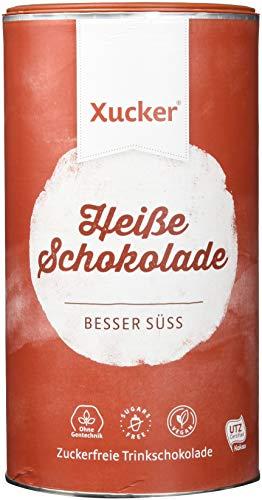 800 g Heiße Schokolade mit Xylit von Xucker | Süßer Genuss mit gutem Gewissen - schmeckt heiß und kalt | Xylit Trinkschokolade | zuckerfrei | vegan | ohne Gentechnik