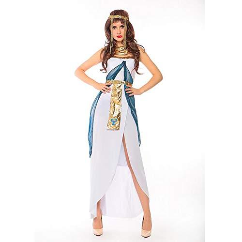 SHANGLY Halloween Kostüme Kleopatra Cosplay Kleidung Ägyptische Prinzessin -