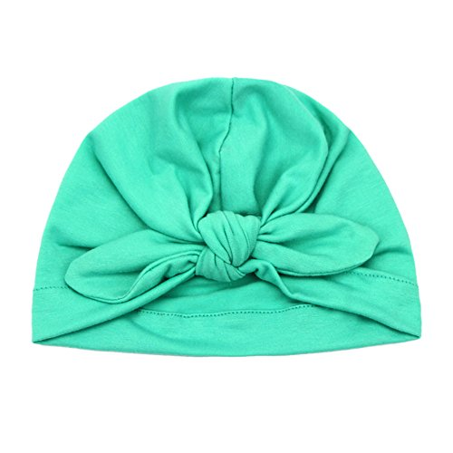 Baby Kinder Beanie Baumwoll Stirnband Hairband Turban Headwrap Winter Warm Hut