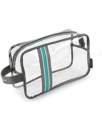 3ad3eb1c7 Bolso Multifuncional de Gran Capacidad para Hombres y Mujeres de Viaje  portátil de plástico Transparente Bolsa