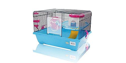 Cage pour hamster 43 x 31 x 28 cm.
