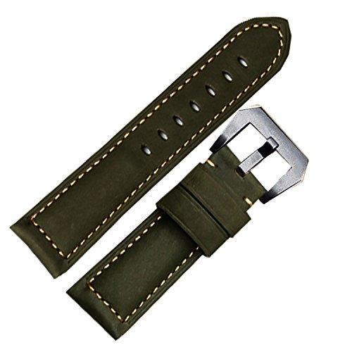 nw-pantorrilla-26-mm-correa-de-reloj-de-banda-fit-de-piel-color-verde-panerai-ejercito-reloj