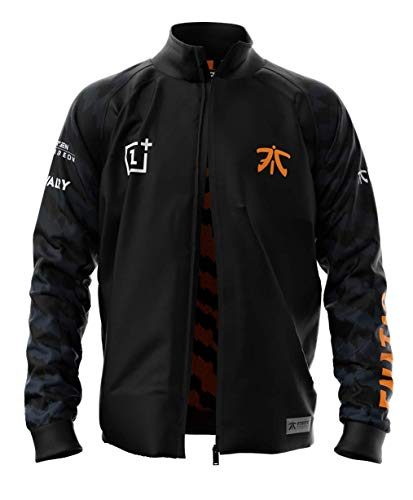 Fnatic Spieler Team Pro Wear Jacke 2019 (E-Sports Fan Merch) - Größe L