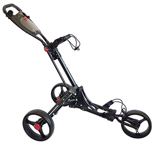 Cruiser Golf CR-6 Deluxe Three Wheel Trolley – One Button Easy Fold