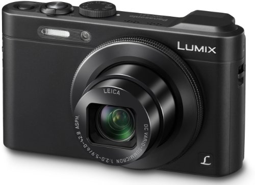 Panasonic LUMIX DMC-LF1 Premium Digitalkamera (12,8 Megapixel, LEICA DC VARIO-SUMMICRON Objektiv mit 7x opt. Zoom, Full HD, bildstabilisiert) schwarz