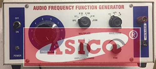 Audio Frequency Function Generator 1Hz to 100KHz