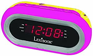lexibook rl140sl soy luna radiowecker mit licht spielzeug. Black Bedroom Furniture Sets. Home Design Ideas